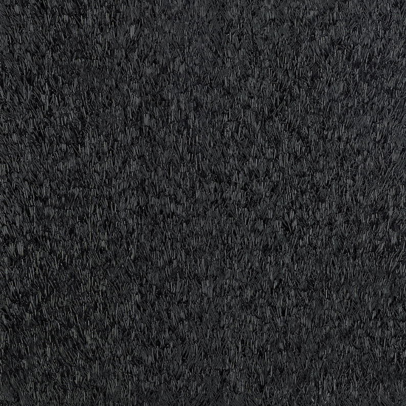 manto erba sintetica nero