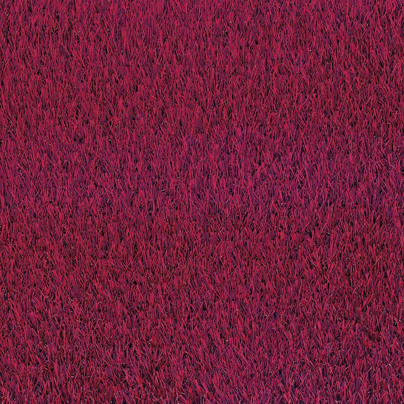 manto erba sintetica rosso